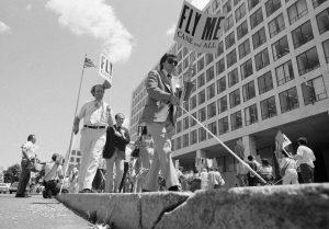 FAA Protestors in 1978